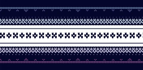 winter creative pattern